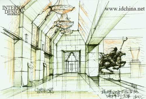 新疆迎宾馆(手绘奖)_美国室内设计中文网