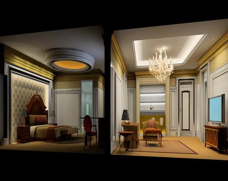 欧式小套房_美国室内设计中文网