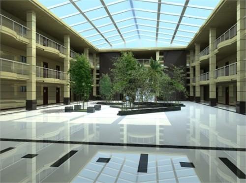 中国矿大中庭设计方案