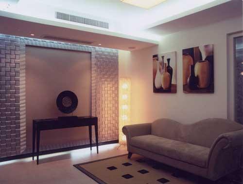 """地下层小客厅的出现赋予别墅主人坐拥高级双客厅"""""""