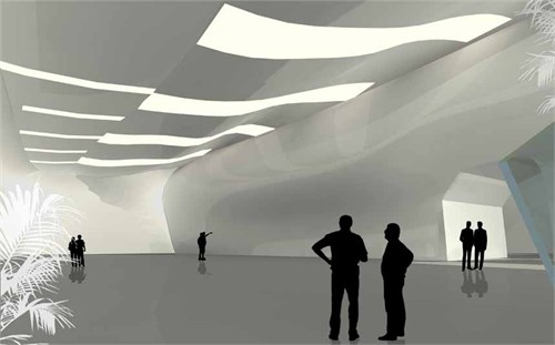 陕西省美术馆设计图片