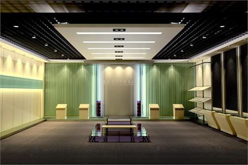 展厅设计二_美国室内设计中文网