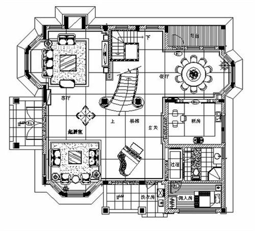最新别墅设计平面图 免费完整别墅装修平面图设计_别墅平面图图片