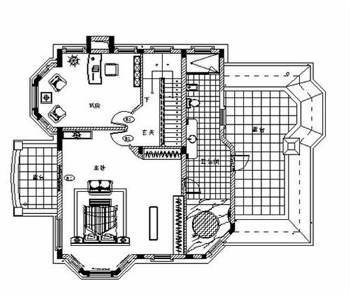 设计方案气泡图及各层平面布置图_美国室内设计中文网