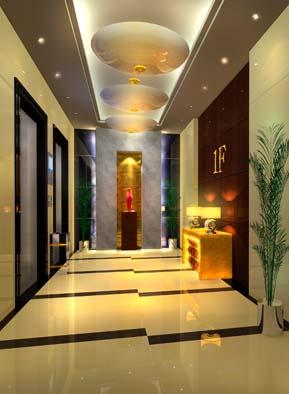 酒店电梯间_美国室内设计中文网