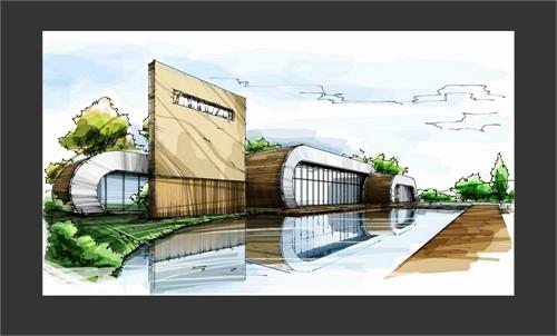 湖边会所_美国室内设计中文网