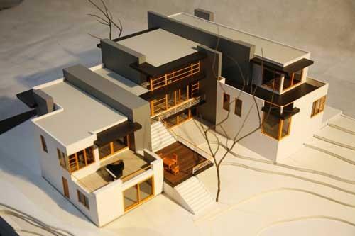 西南交通大学艺术与传播学院室内设计---建筑模型图片