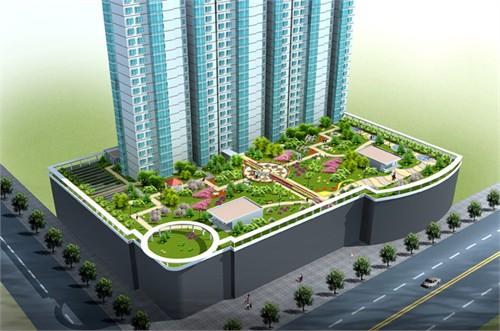 屋顶花园设计_美国室内设计中文网