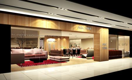 家具展厅设计_美国室内设计中文网