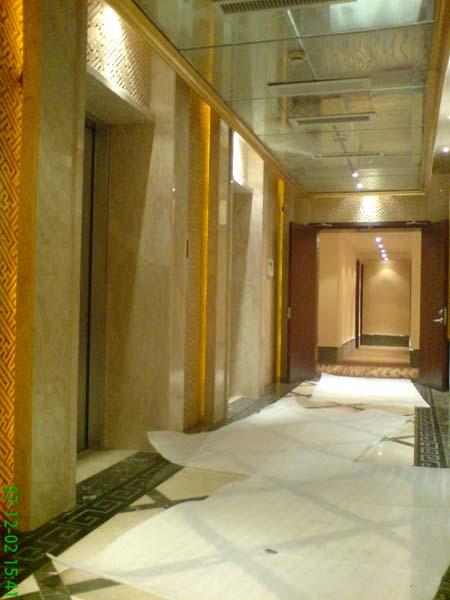 某酒店某电梯间_美国室内设计中文网