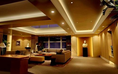 酒店大厅室内透视