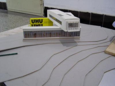建筑模型制作过程更新中04