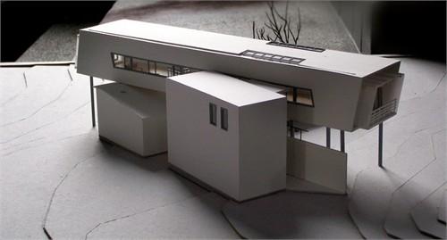 建筑模型制作过程更新中06