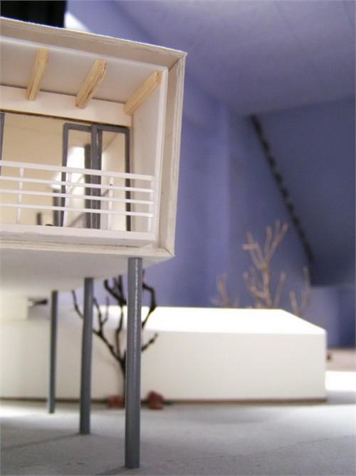 建筑模型制作过程更新中07_美国室内设计中文网