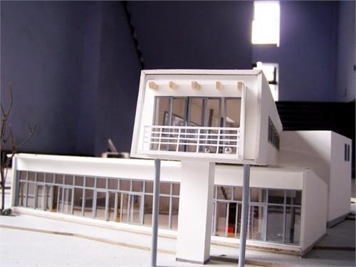 建筑模型制作过程更新中07