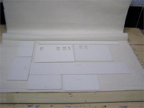 建筑模型制作过程更新中._美国室内设计中文网