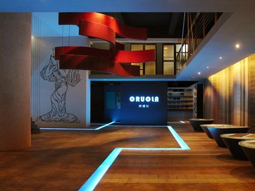 欧诺拉空间美学馆_美国室内设计中文网