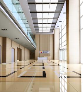 办公楼大厅_美国室内设计中文网