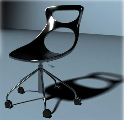 椅子设计说明:我以易拉罐拉环为题材,设计出一组具有环保一位的座椅.
