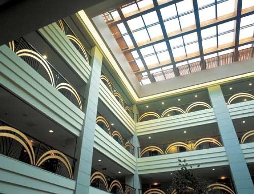 常州香树湾花园酒店_香树湾花园酒店中庭_美国室内设计中文网