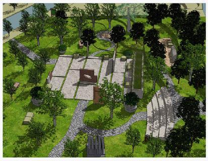 树丛中的空间_美国室内设计中文网图片