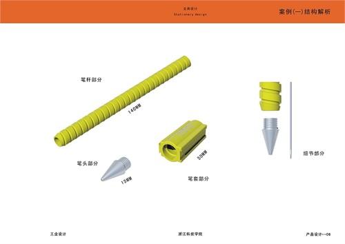 最近做的一个文具类产品设计与通讯类