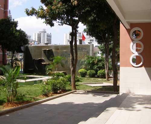 莲花中学校园景观改造工程系列(一)