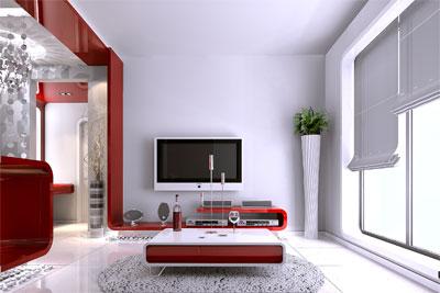 小户型_美国室内设计中文网