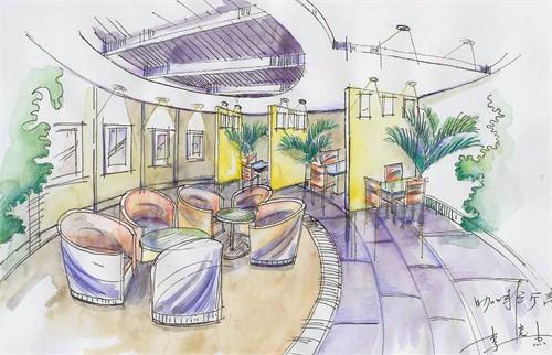 我的手绘_美国室内设计中文网