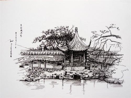 室内设计_美国室内设计中文网; 风景园林钢笔速写; 苏州园林留园建筑