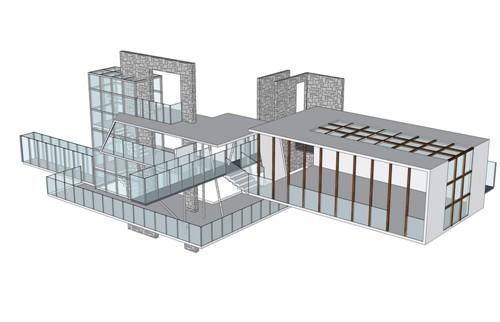 空间设计模型
