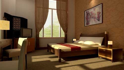养老院室内设计_养老院室内效果图