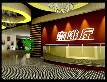 咖啡廳前臺設計_美國室內設計中文網