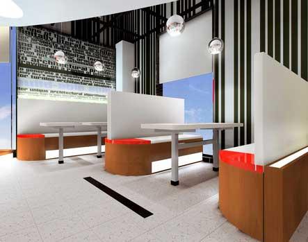 本設計為天津市八里臺新文化廣場室內裝修方