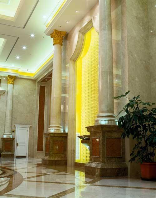欧式宴会厅地面铺装效果图