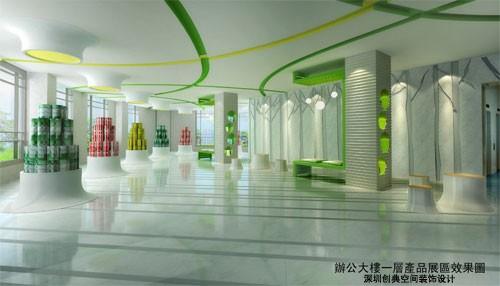三棵树涂料集团办公大楼的设计方案 高清图片