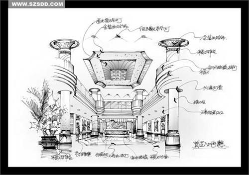 手绘方案_美国室内设计中文网
