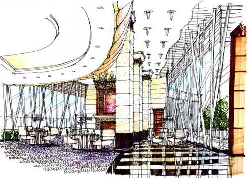 丰联手绘图_美国室内设计中文网