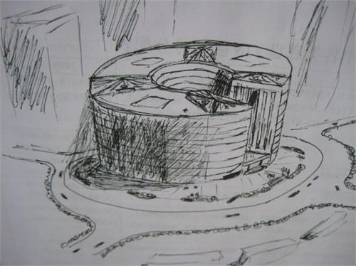 一些手绘图_美国室内设计中文网
