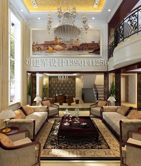 欧式 别墅_美国室内设计中文网