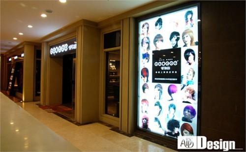 乔治发型店设计_美国室内设计中文网