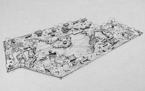 中国古典园林设计