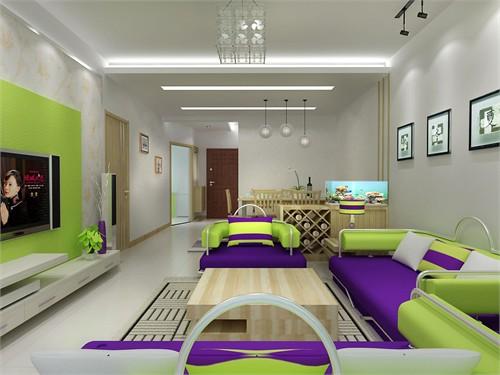 两房一厅_美国室内设计中文网