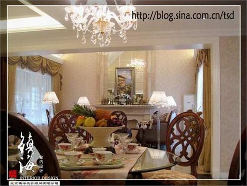 欧式别墅样板间2_美国室内设计中文网