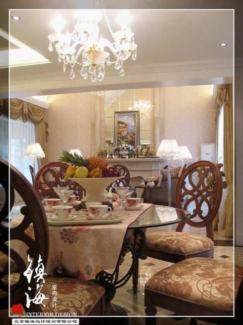 欧式别墅样板间5_美国室内设计中文网
