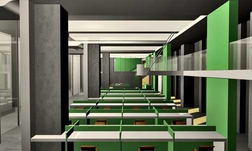 loft风格装修形象墙