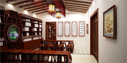 新家庭文化书屋_美国室内设计中文网图片