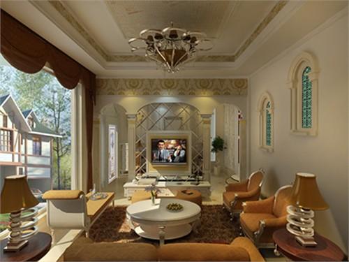 欧式别墅_美国室内设计中文网