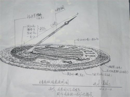 花坛设计平面图cad