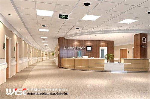 齐齐哈尔第一医院(二期)_美国室内设计中文网
